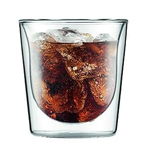 【正規品】 BODUM ボダム SKÅL ダブルウォールグラス 200ml (2個セット)