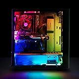 EASYDIY TN-01 PWMファンハブ&PC照明レインボー磁気LEDストリップ