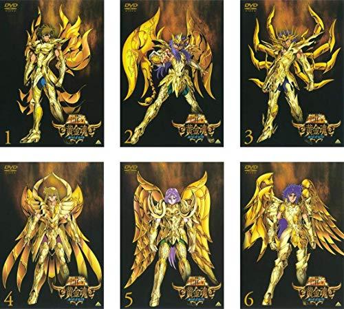 聖闘士星矢 黄金魂 soul of gold  全6巻セット [マーケットプレイスDVDセット商品]