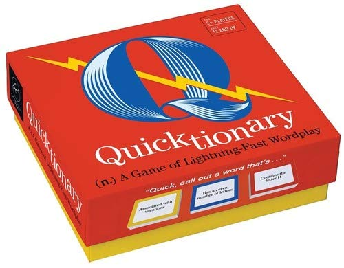 Quicktionary: A Game of Lightning-Fast Wordplay