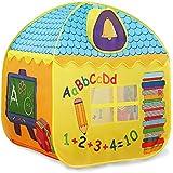 子供の遊びのテント、屋内と屋外の、防滴性のある軽いポリエステル布、厚手の活発な印刷と染色のTドア