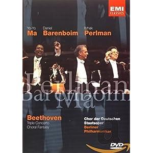 Triple Concerto & Choral Fantasy [DVD] [Import]