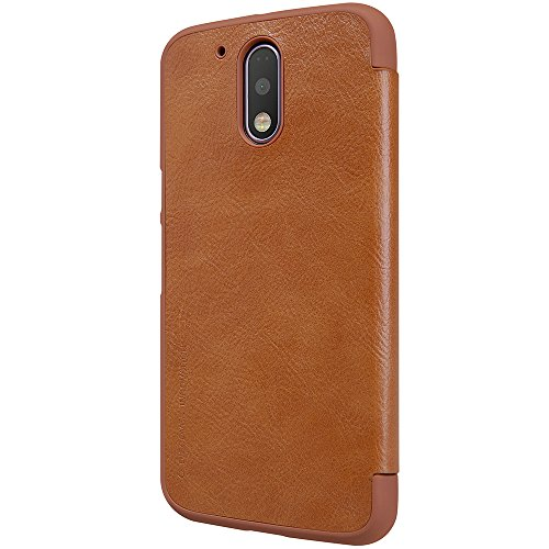 『NILLKIN Motorola Moto G4 Plus 2016 スマートフォンケース 褐色』の4枚目の画像