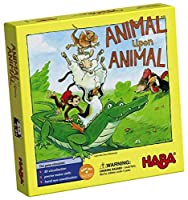 HABA Animal Upon Animal - Classic Wooden Stacking Game Fun for The Whole Family (Made in Germany) [並行輸入品]
