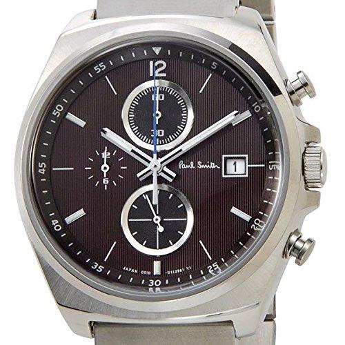 Paul Smith ポールスミス メンズ 腕時計 ニューファイナルアイズ クロノグラフ New Finaleyes Chronograph ブラウン BA2-113-93 新品【並行輸入品】