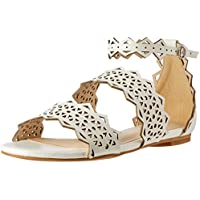 Oxford Women's May Lace Leather Sandal