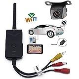SUNNY WIFI バックカメラ セット iPhone など スマホ 、 タブレット 対応 防水仕様 広角 映像ケーブル 付き 有線 / 無線 両方 対応 SNS-WBK903-A0119N