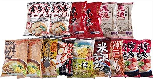 全日本らーめん味比べ 15食 【日本 らーめん 味比べ 15...