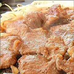 ジンギスカン 肉 味付き マトン肉 3kg (醤油味/冷凍) 業務用 羊肉 BBQ 北海道