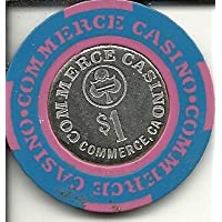 $ 1 CommerceカジノCaliforniaカジノチップObsolete
