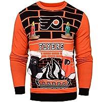 NHL Philadelphia Flyers Unisex NHL Ugly 3D Sweater, Large