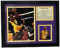 "Legends Never Die"" Kobe Bryant Gold Jerseyインチフレーム写真コラージュ、11x 14インチ"