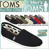 (トムズ シューズ)TOMS SHOES スリッポン CANVAS MEN'S CLASSICS キャンバス クラシック 001001A [並行輸入品]
