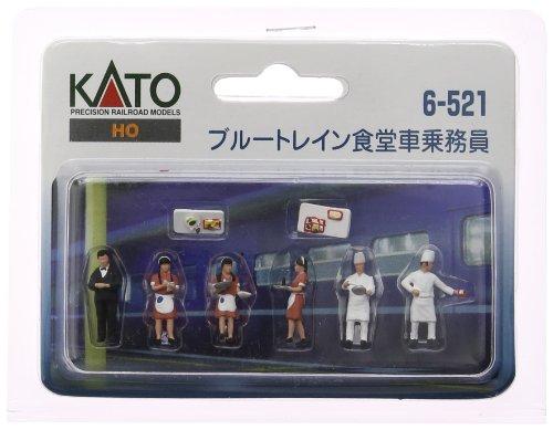 カトー KATO HOゲージ ブルートレイン食堂車乗務員  ジオラマ用品 / 6-521