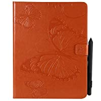 iPad 2 3 4 Case, MrStar Luxury PU Leather Wallet Flip Protective 新しい Case Cover with Card Slots and Stand for iPad 2 3 4 Orange
