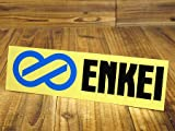 ステッカー エンケイ ENKEI 転写式 ブラック_SC-ES1-TMS