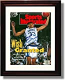 "Framed Grant Hill ""Wish Granted"" Sports Illustrated Autograph Print - Duke Blue Devils by Framed Print - College Basketball [並行輸入品]"