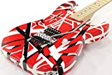 CHARVEL / EVH ART Series Red and White and Black