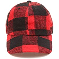 MIRMARU Men's Wool Blend Baseball Cap with Adjustable Size Strap