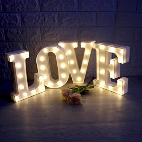 LED イルミネーション イニシャルライト アルファベットライト ホームイベント インテリア ギフト (V)