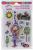 Stampendous SSCP109 Whisper World - Perfectly Clear Stamps