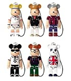 FRED PERRY BE@RBRICK FRED PERRY フレッドペリー ベアブリック 70% 6種類SET