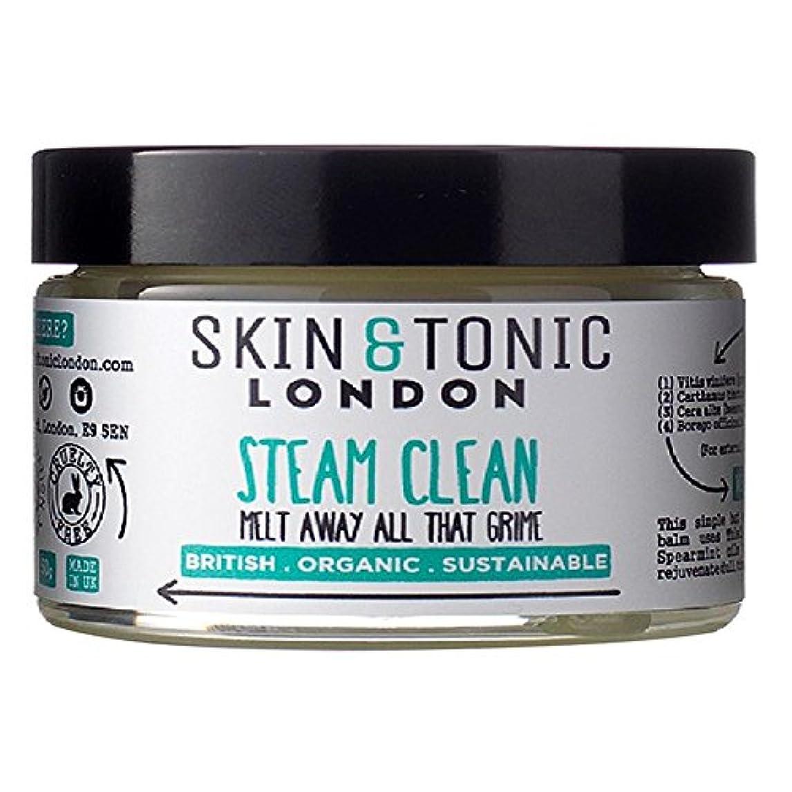 物思いにふけるエジプト人留め金Skin & Tonic London Steam Clean 50g (Pack of 6) - スキン&トニックロンドン蒸気きれいな50グラム x6 [並行輸入品]