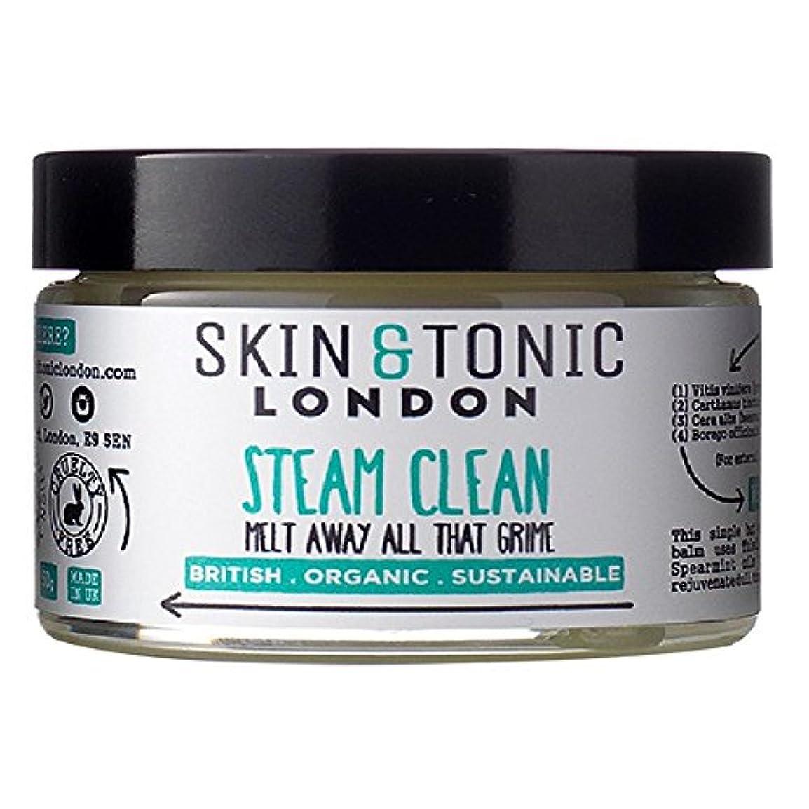 小説家ブル悪夢スキン&トニックロンドン蒸気きれいな50グラム x2 - Skin & Tonic London Steam Clean 50g (Pack of 2) [並行輸入品]