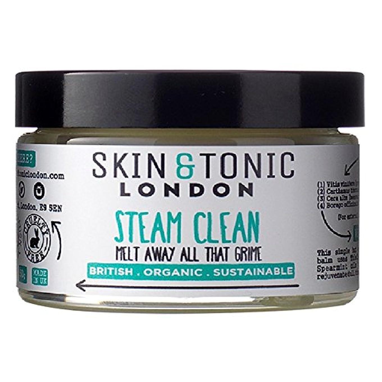 スキン&トニックロンドン蒸気きれいな50グラム x2 - Skin & Tonic London Steam Clean 50g (Pack of 2) [並行輸入品]