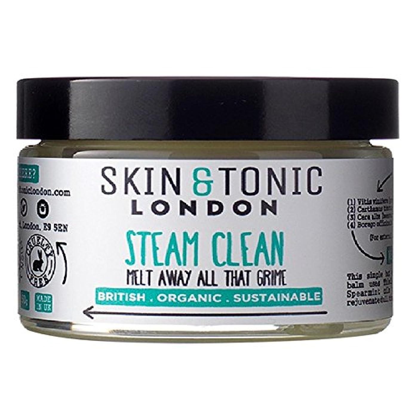 推測かみそり細分化するスキン&トニックロンドン蒸気きれいな50グラム x2 - Skin & Tonic London Steam Clean 50g (Pack of 2) [並行輸入品]