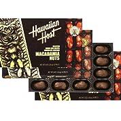 【ハワイお土産】ハワイアンホスト8ozマカダミアナッツチョコレート16粒【4箱】