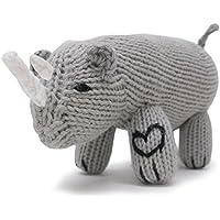 有機Toy – ソフトベビーRattle – Rhino