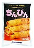 【沖縄伝統おやつ】 ちんびんミックス(沖縄風黒糖入りクレープ専用粉) 350g×4袋