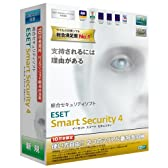 ESET Smart Security V4.0 10万本限定パック