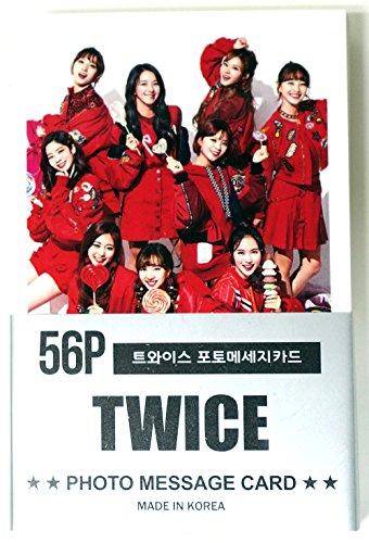 TWICE トワイス - ミニポストカード56枚セット MINI POSTCARD PHOTOCARD SET 56pcs [韓国製]