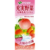 伊藤園 充実野菜 完熟ももミックス 200ml×24本