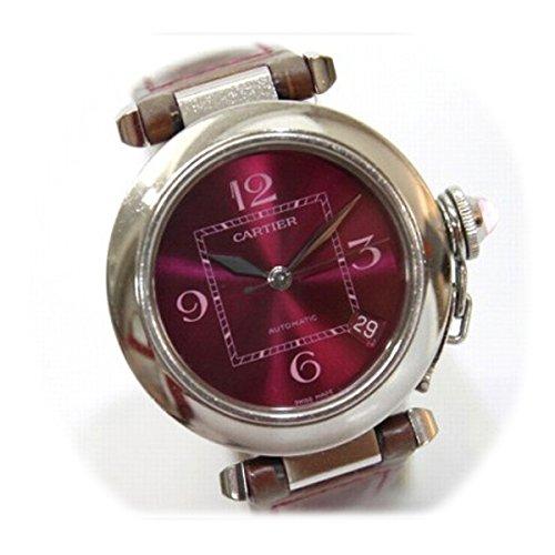 [カルティエ]Cartier 2005年クリスマス限定 パシャC 35mm 腕時計 自動巻き SS クロコベルト W3108299 [中古]