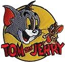 アイロンワッペン【Tom Jerry】 トムアンドジェリー キャラクターワッペン