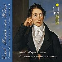 Weber: Clarinet Concertos by PAUL / ORCHESTRE DE CHAMBRE DE LAUSANNE MEYER