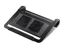 Cooler Master NotePal U2 Plus- (Cooler for Upto 17-inch Laptop) - Black