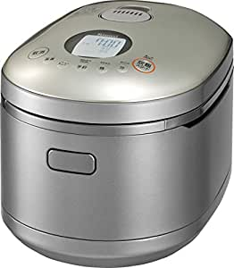 リンナイ 直火の匠 タイマー・ジャー付きガス炊飯器 5.5合炊き・パールシルバー・プロパンガスLPG用 RR-055MST2(PS) LP