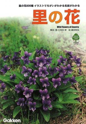 里の花―里の花800種 イラストでちがいがわかる名前がわかる (自然発見ガイド)の詳細を見る
