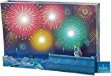 サンリオ(Sanrio) サマーカード 打ち上げ花火と屋根の上のネコ JSP 56-1 S 4256