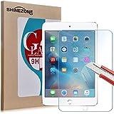 【ShineZone】Apple iPad mini 4 専用強化ガラスフィルム 0.3mm 超薄型.表面硬度9H・飛散防止処理・ 気泡防止・高光沢 ・耐衝撃・指紋防止保護シール