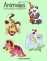 Animales: Libro Para Colorear Para Niños Pequeños (Animales Para Niños Pequeños)