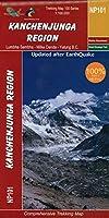 Kangchenjunga Region: 1:100000 GHT trekking map