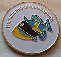 ハワイアン魚メタルゴルフボールマーカー
