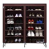 コンバース バスケットシューズ 9-tierポータブル靴ラック27-pair大容量靴ストレージオーガナイザー、4色Watreproof不織布カバー