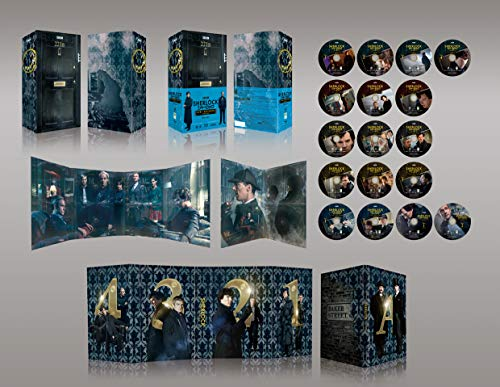 【Amazon.co.jp限定】SHERLOCK/シャーロック ベイカー・ストリート 221B エディション(A3ポスター5枚セット付き) [Blu-ray]