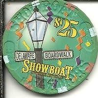 $ 25 Showboat BoardwalkカジノチップAtlantic City Obsolete
